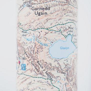 White Ordnance Survey Snowdon Thermal Bottle