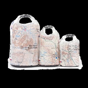Multi Ordnance Survey 3 Peaks Dry Bags