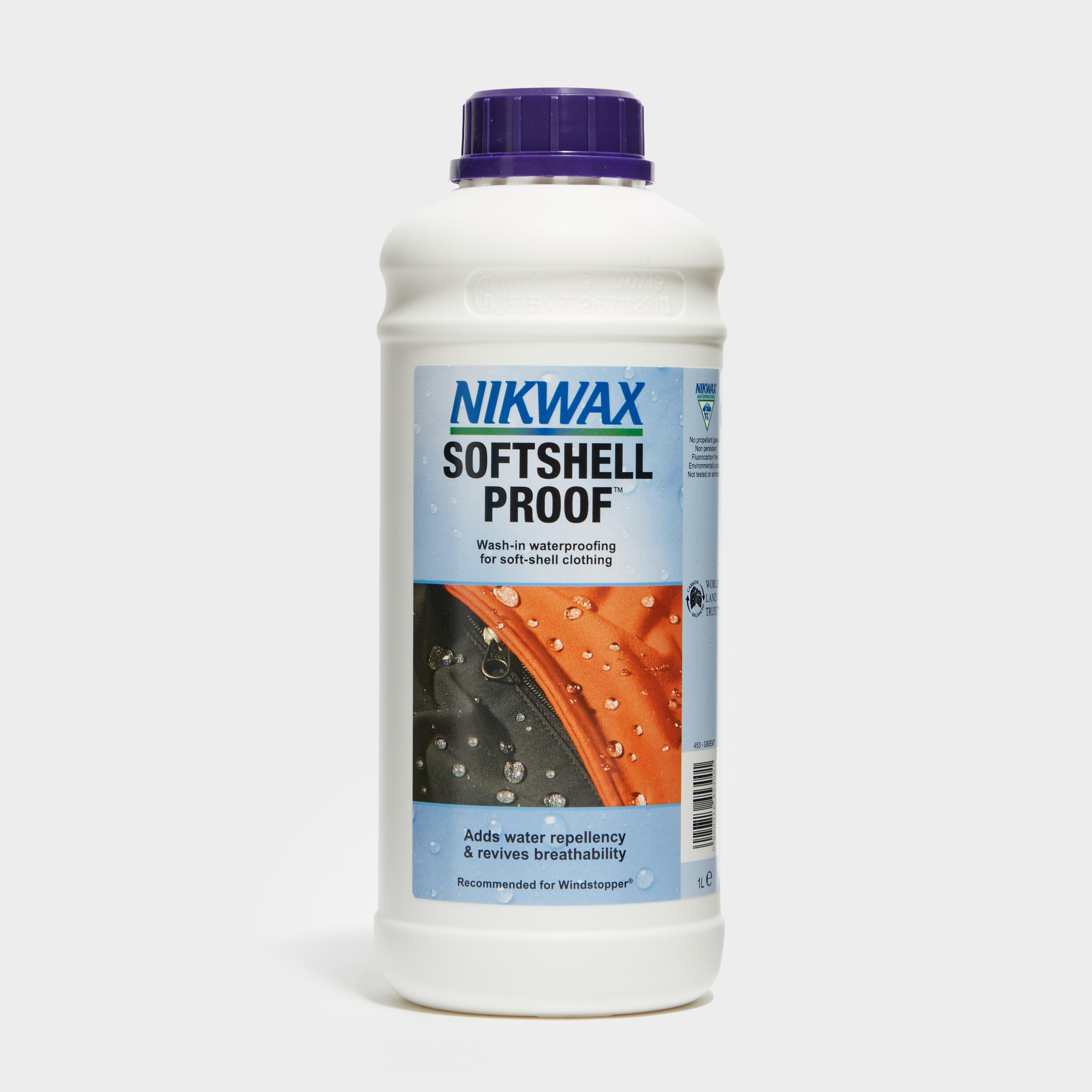 Image of Nikwax Softshell Proof 1L - Blue/1L, Blue/1L