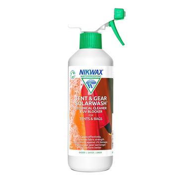 Green Nikwax Tent & Gear Solarwash 500ml