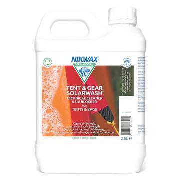 White Nikwax Tent & Gear Solarwash 2.5L