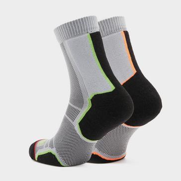 Grey 1000 MILE Men's Trail Socks 2 Pack