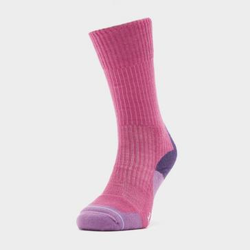 PURPLE 1000 MILE Women's Fusion Walking Socks
