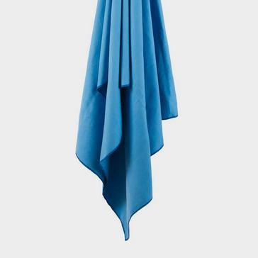 Blue LIFEVENTURE Recycled SoftFibre Towel Large