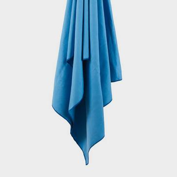 Blue LIFEVENTURE Recycled SoftFibre Towel Giant