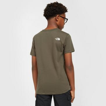 Green The North Face Kids' Easy Tee