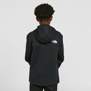 Black The North Face Kids' Slacker Full-Zip Hoodie