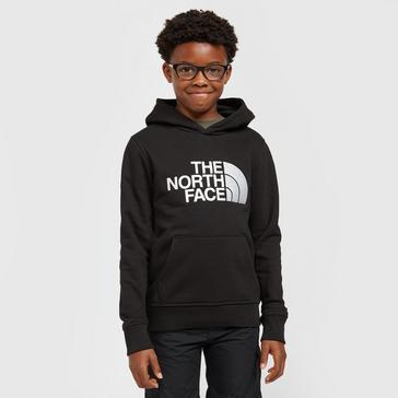 Black The North Face Kids' Drew Peak Hoodie