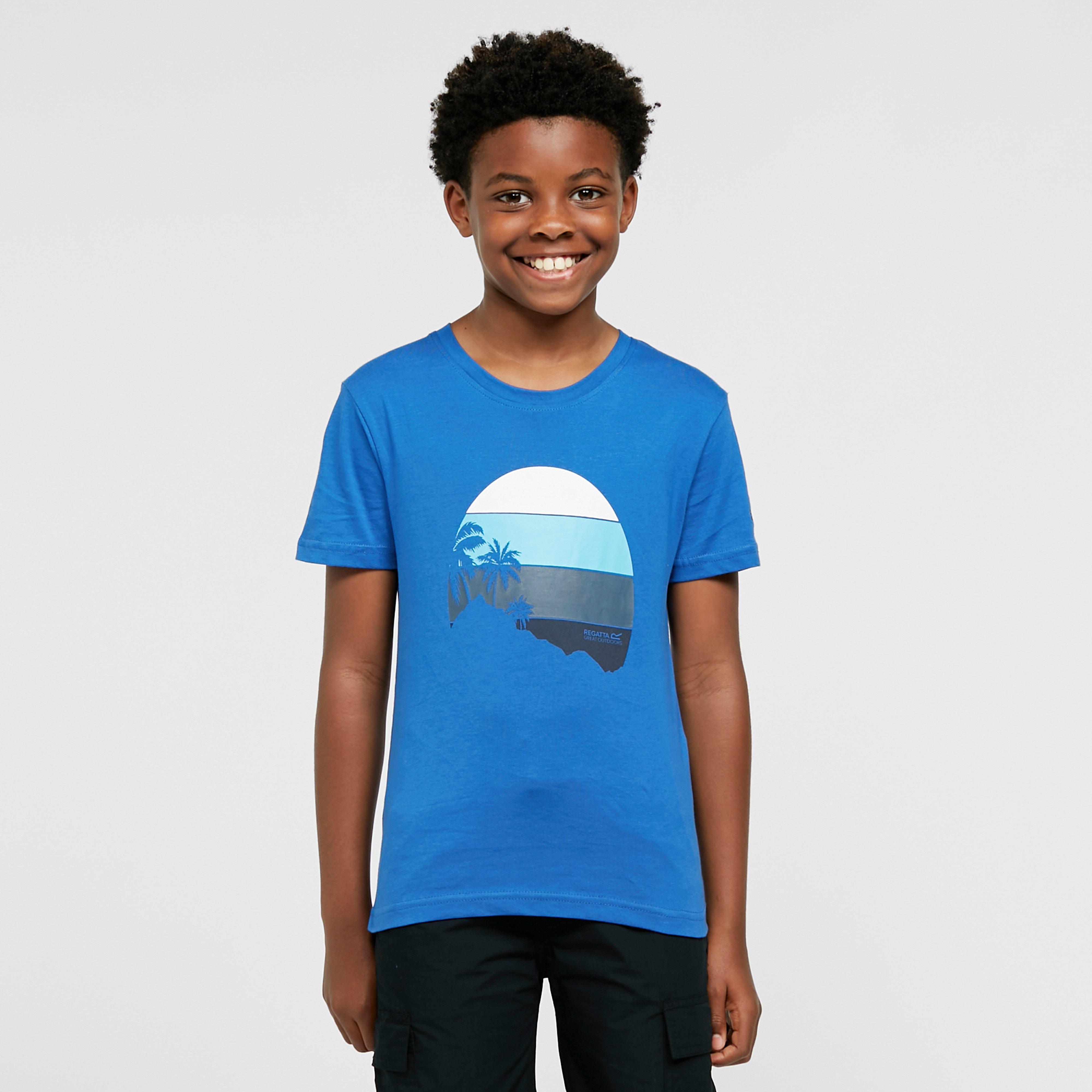 Image of Regatta Kids' Bosley Iii T-Shirt - Blue/Blue, Blue/Blue