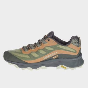 GREEN Merrell Men's Moab Speed Gore-Tex Shoes