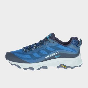 NAVY Merrell Men's Moab Speed Gore-Tex Shoes