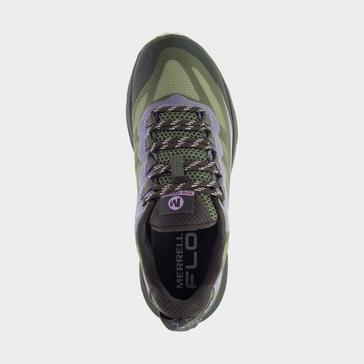 Green Merrell Women's Moab Speed GTX Shoes