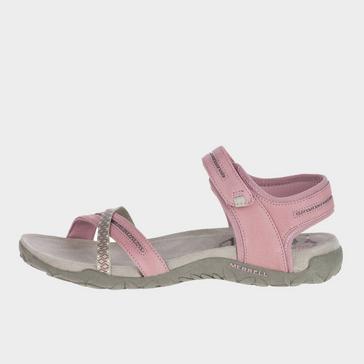 Pink Merrell Women's Terran Cross II Sandals