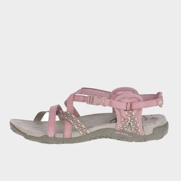 Pink Merrell Women's Terran Lattice II Sandals
