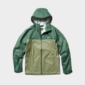 Green Merrell Men's Fallon Waterproof Jacket