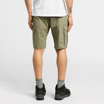 Green Merrell Men's Wayfinder Active Tech Shorts