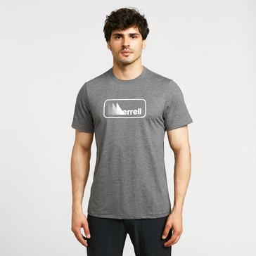 Grey Merrell Men's Triangle Short Sleeve T-Shirt