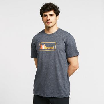 Navy Merrell Men's Triangle Short Sleeve T-Shirt