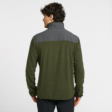 Green Merrell Men's Terrain Full Zip Fleece