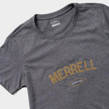 Dark Grey Merrell Women's Topo T-Shirt
