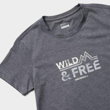Grey Merrell Women's Wild Short Sleeve T-Shirt