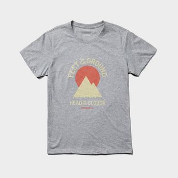 Grey Merrell Women's Grounded Short Sleeved T-Shirt