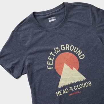 Navy Merrell Women's Grounded Short Sleeved T-Shirt