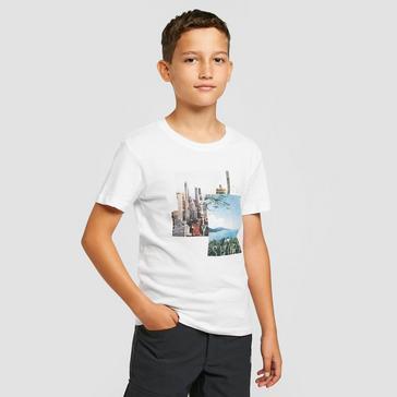 WHITE Regatta Kids' Bosley III T-shirt