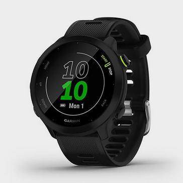 Black Garmin Forerunner 55 GPS Running Smartwatch