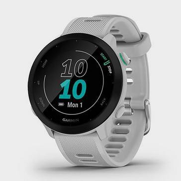 White Garmin Forerunner 55 GPS Running Smartwatch