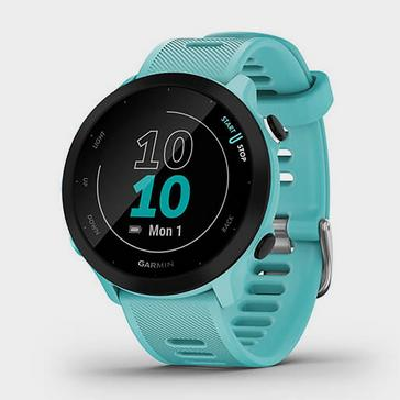 Blue Garmin Forerunner 55 GPS Running Smartwatch