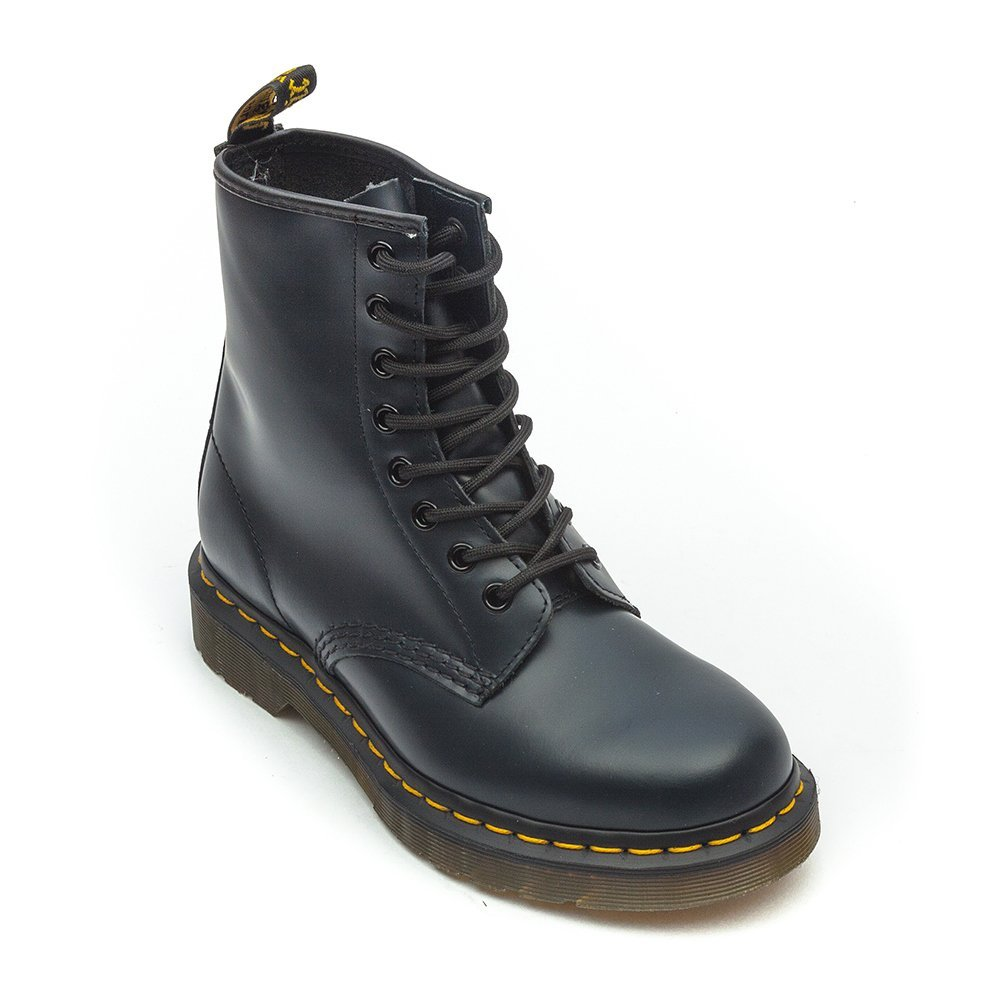 Dr Martens Women's 140 Leather High Top Lace-Up Boots - Navy