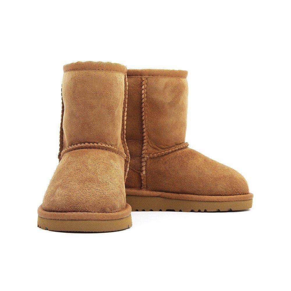 Ugg Infant Classic Short Sheepskin Boots - Chestnut
