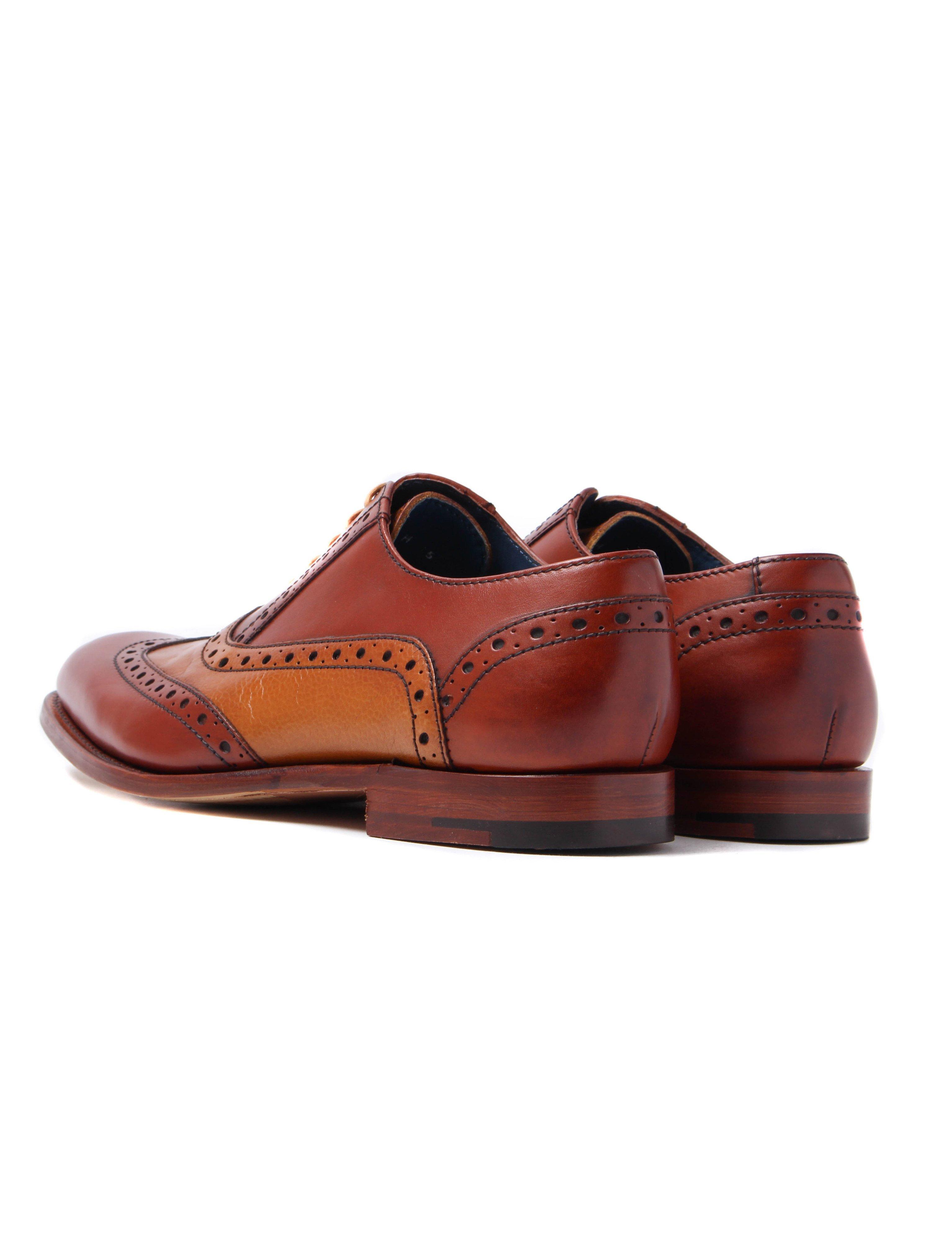 Barker Grant - Mens - Rosewood Calf/cedar