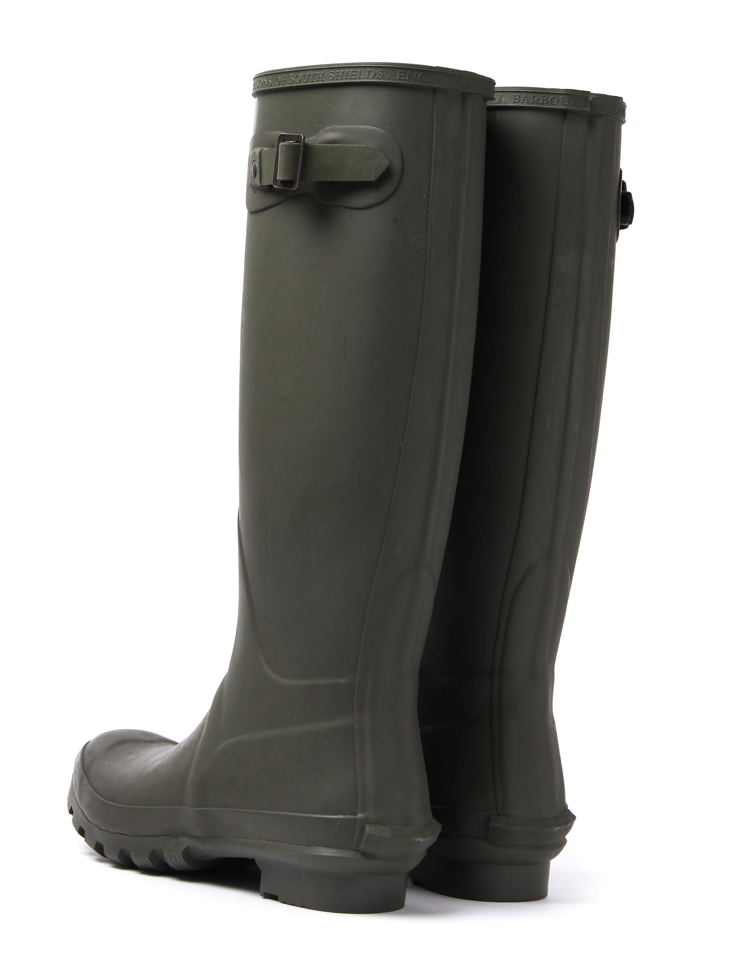 Barbour Women's Bede Wellington Boots - Olive