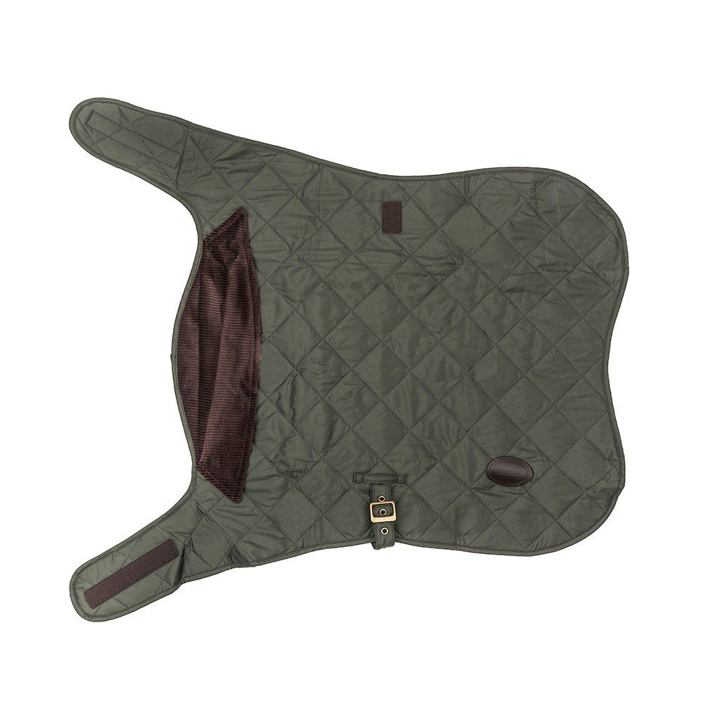 Barbour Quilted Dog Coat - Olive