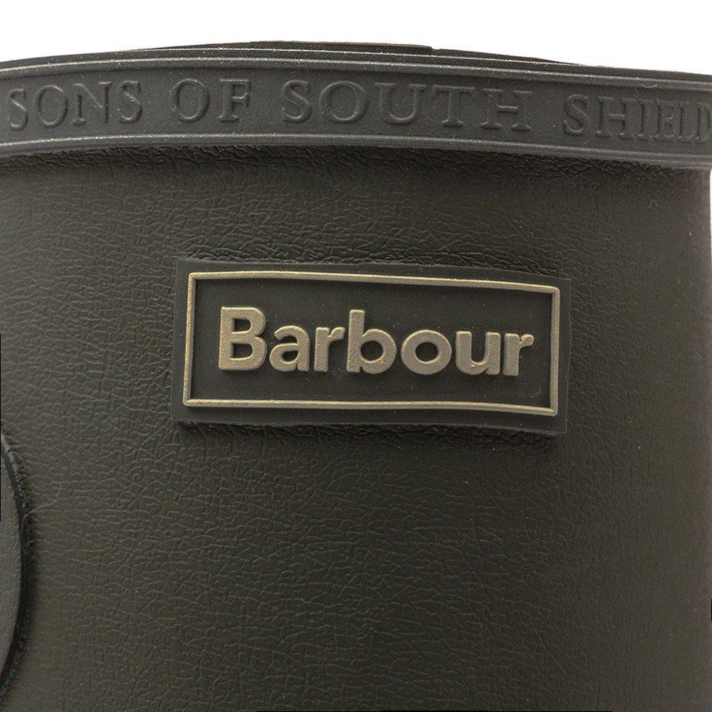 Barbour Men's Bede Rubber Wellington Boots - Olive
