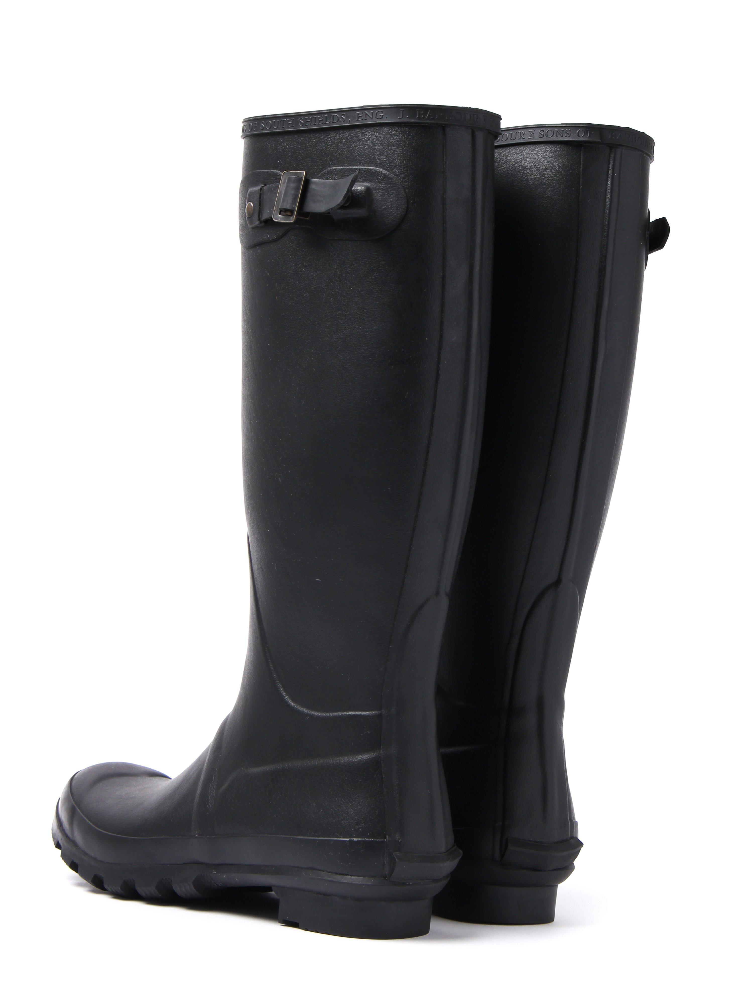 Barbour Men's Bede Rubber Wellington Boots - Black
