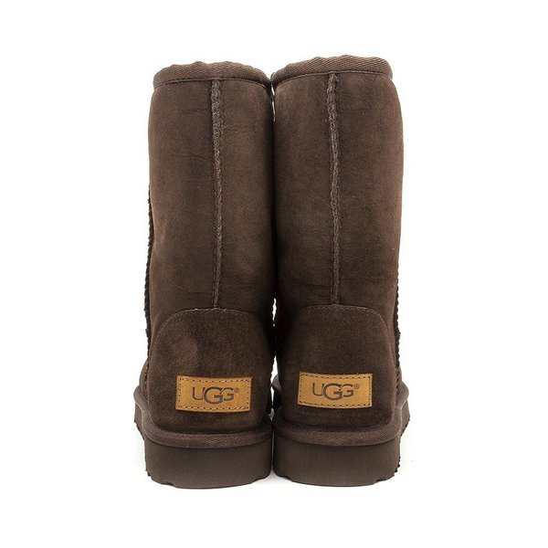 womens ugg classic short chocolate boots