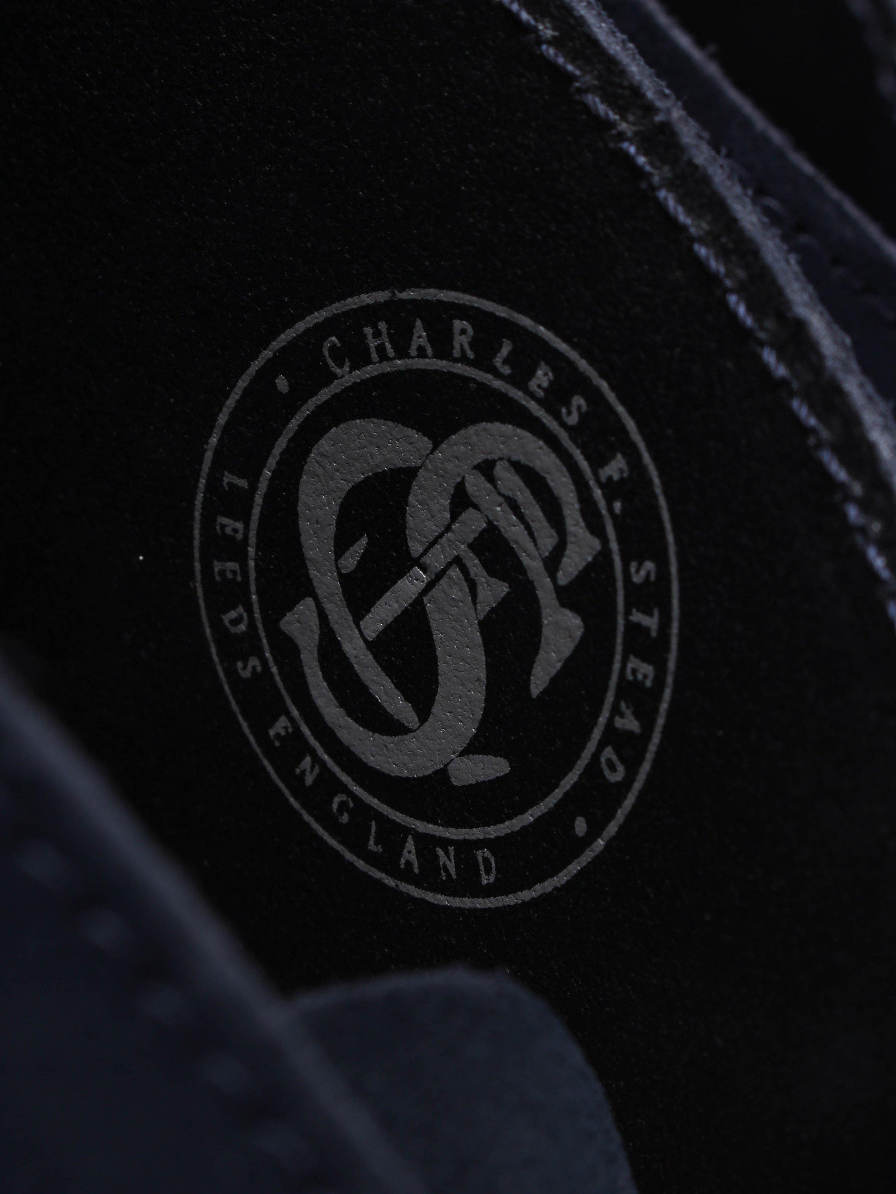 Clarks Originals Womens Desert Boot - Dark Navy Suede