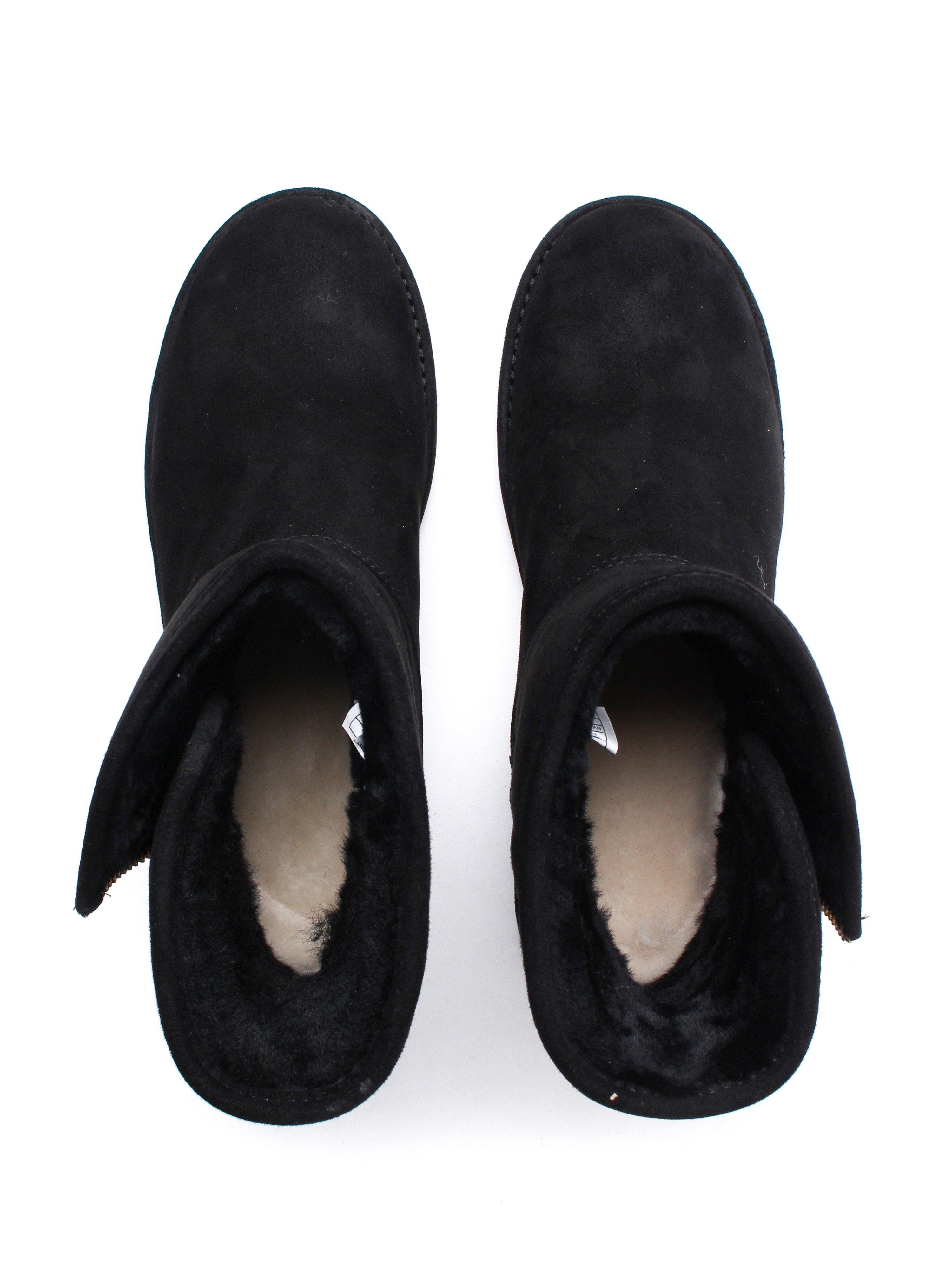 UGG Women's Kip Mid Boots - Black Suede