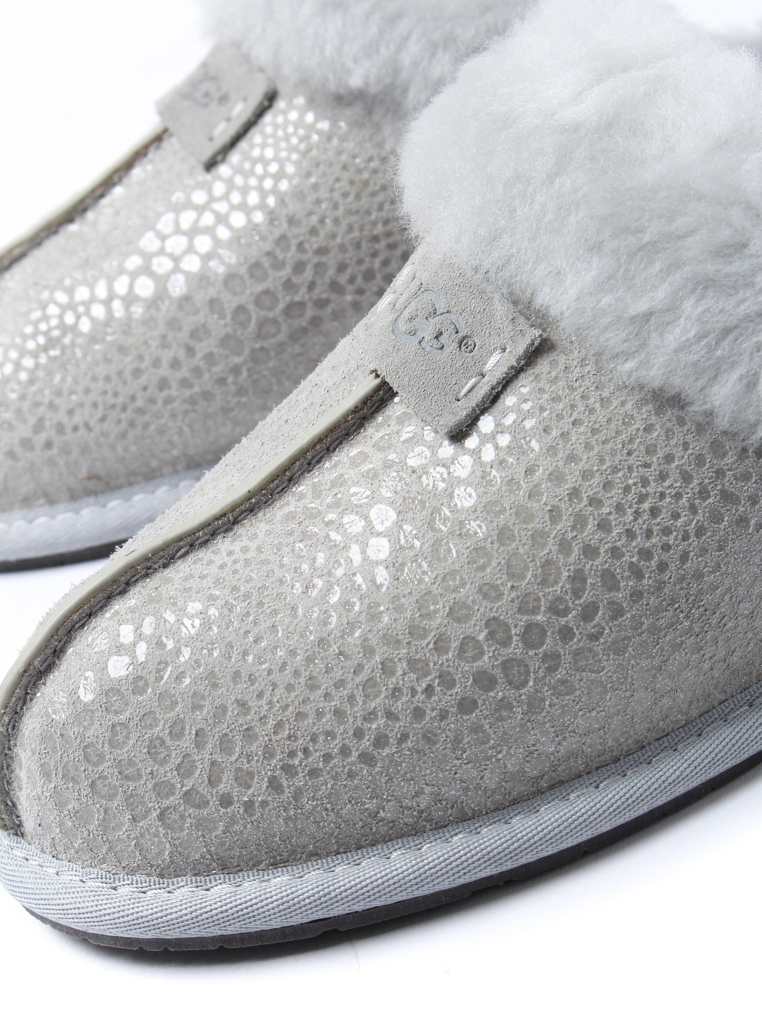 UGG Women's Scuffette II Glitzy Slippers - Grey Violet