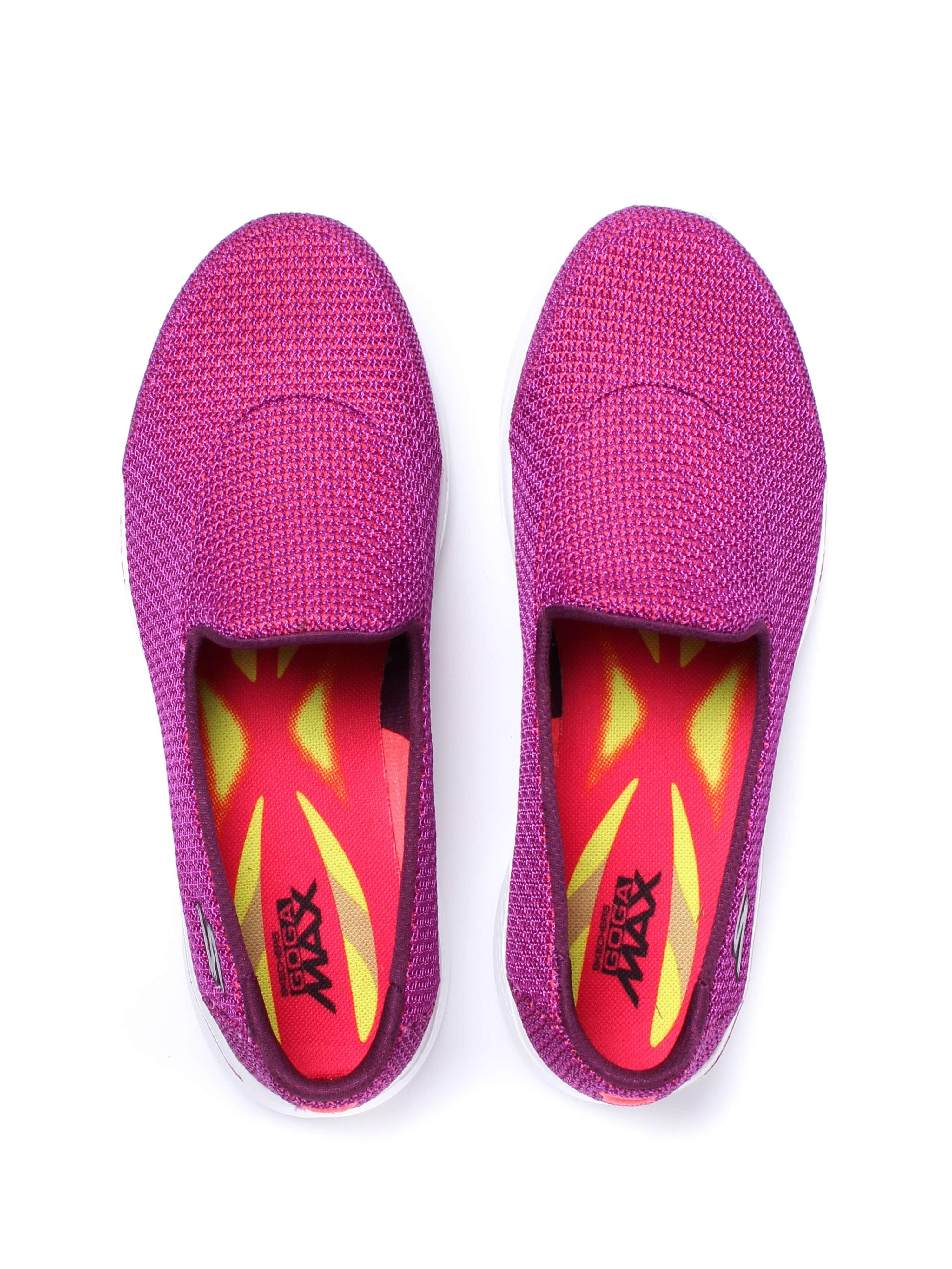 Skechers Women's Go Walk 4 Majestic Trainers - Purple