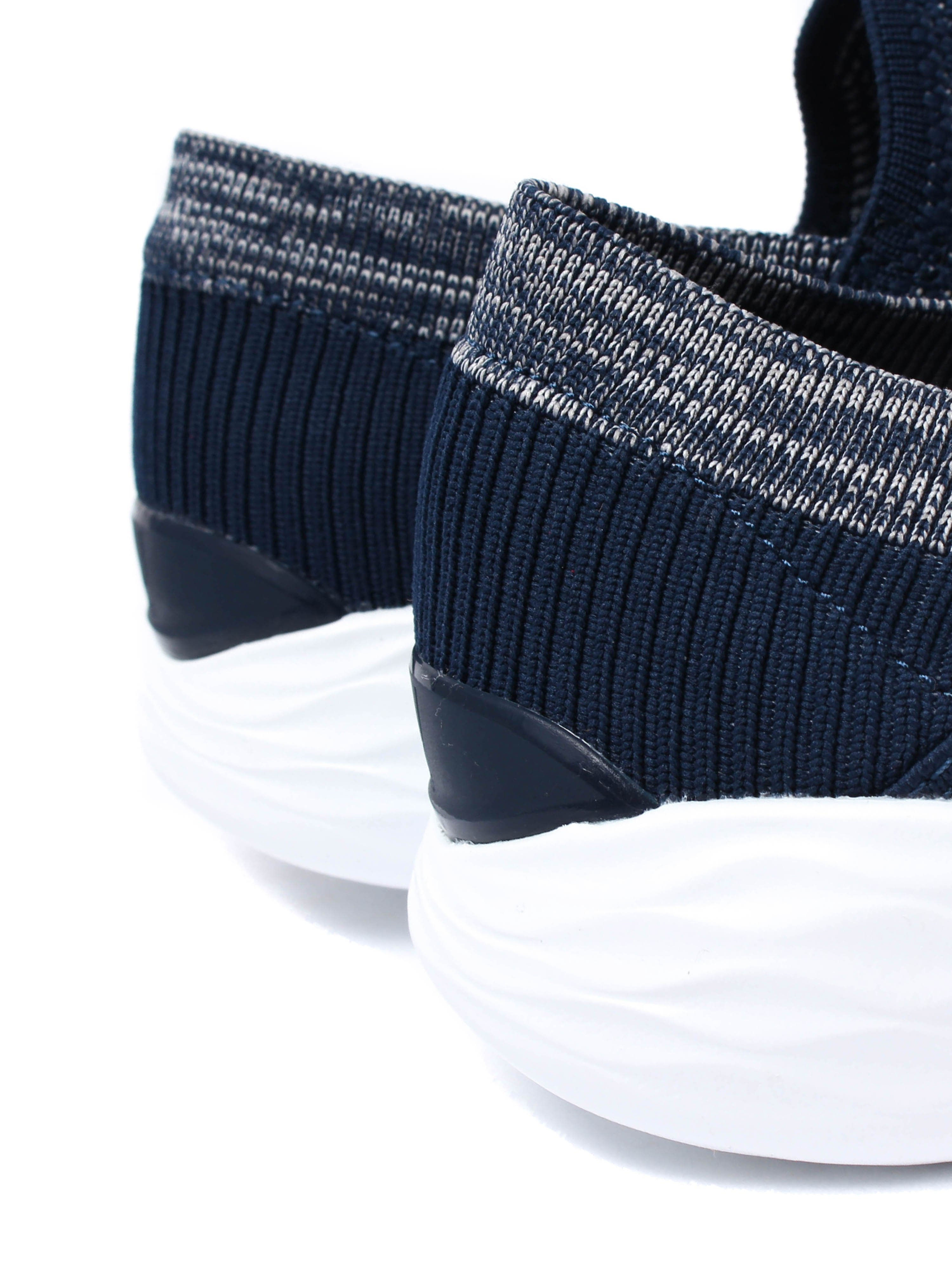 Skechers Women's Slip On Breast Cancer Care Trainers - Navy