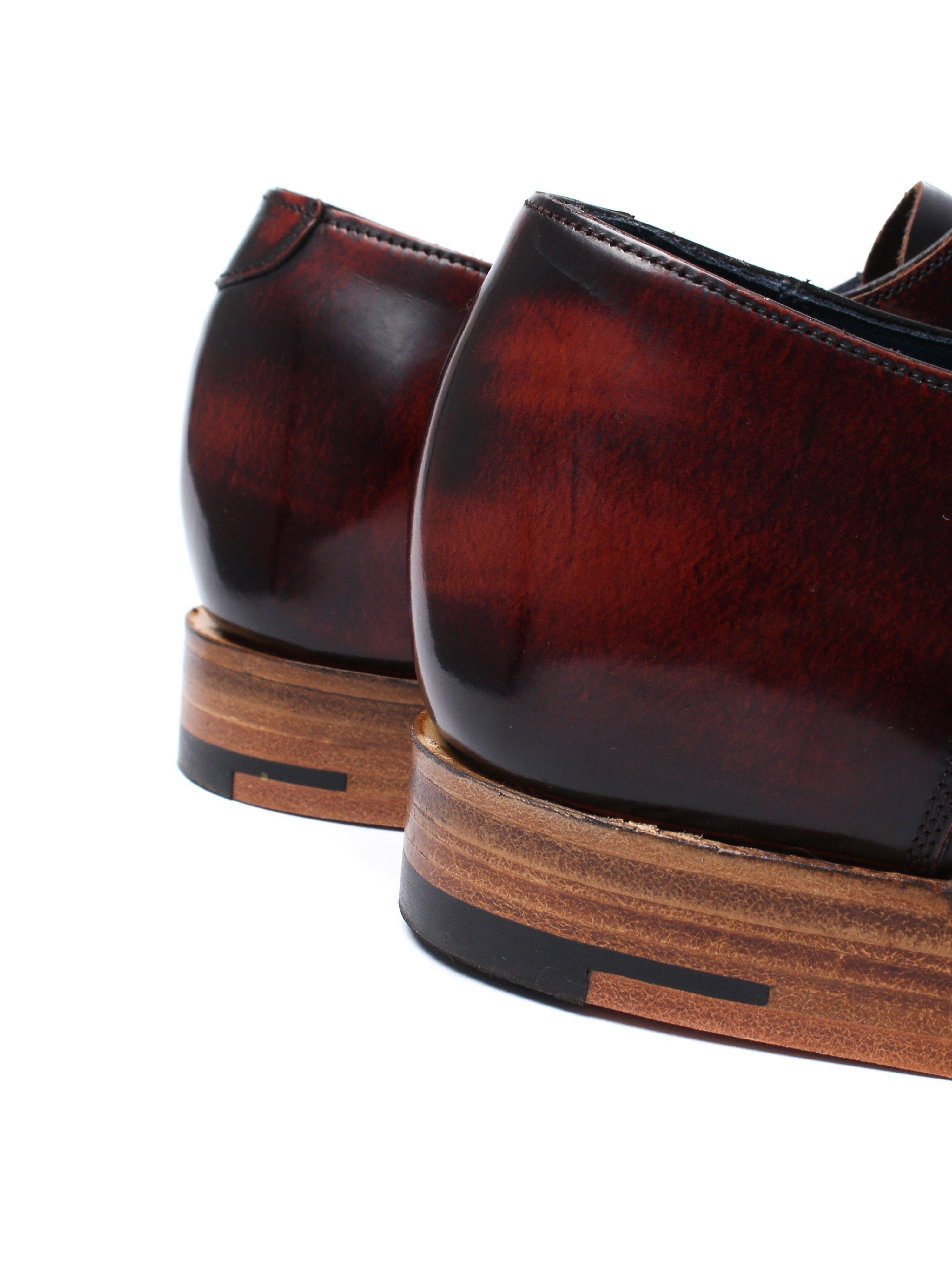 Barker Men's Hartley Hi Shine Derby Shoes – Brandy Leather