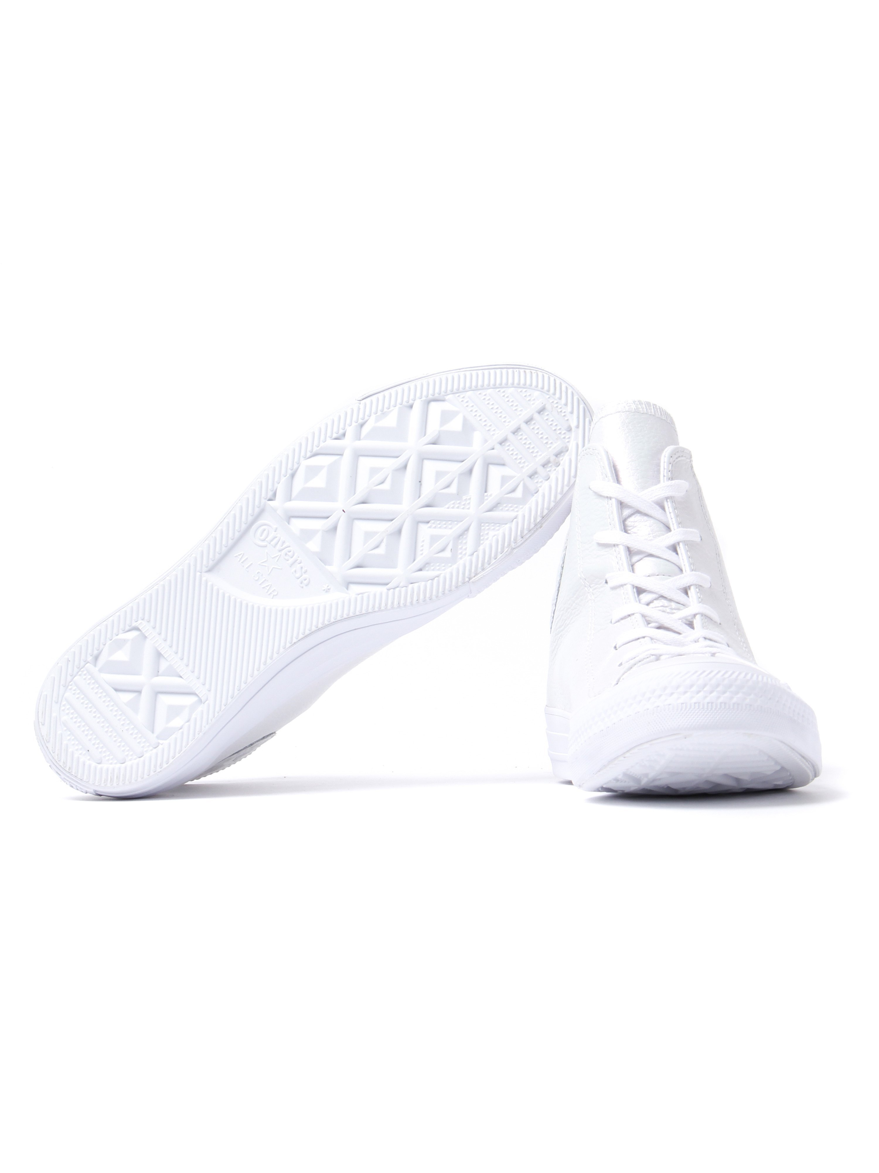 Converse Women's Chuck Taylor All Star HI Trainers - Pearled White