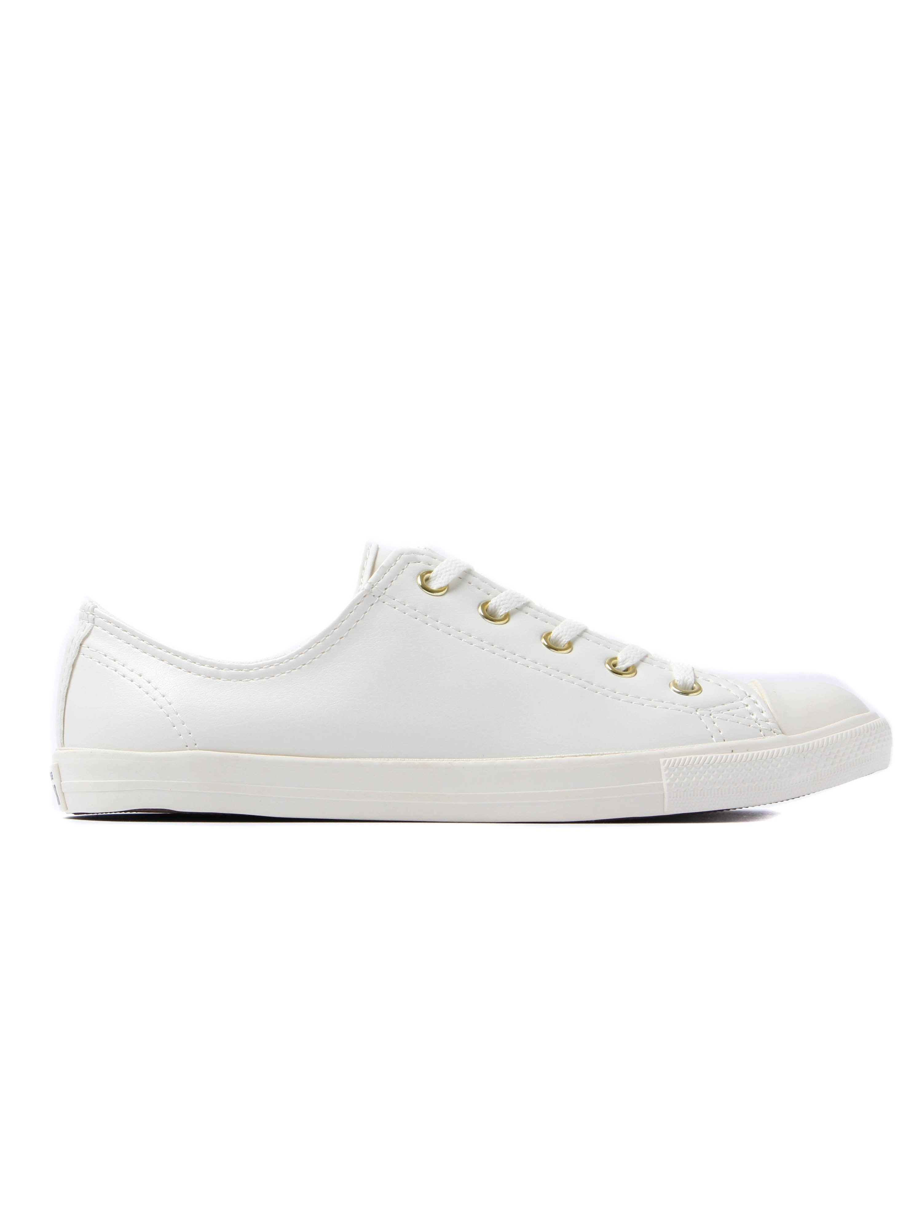 Converse Women's Chuck Taylor All Star Dainty OX Trainers - Egret