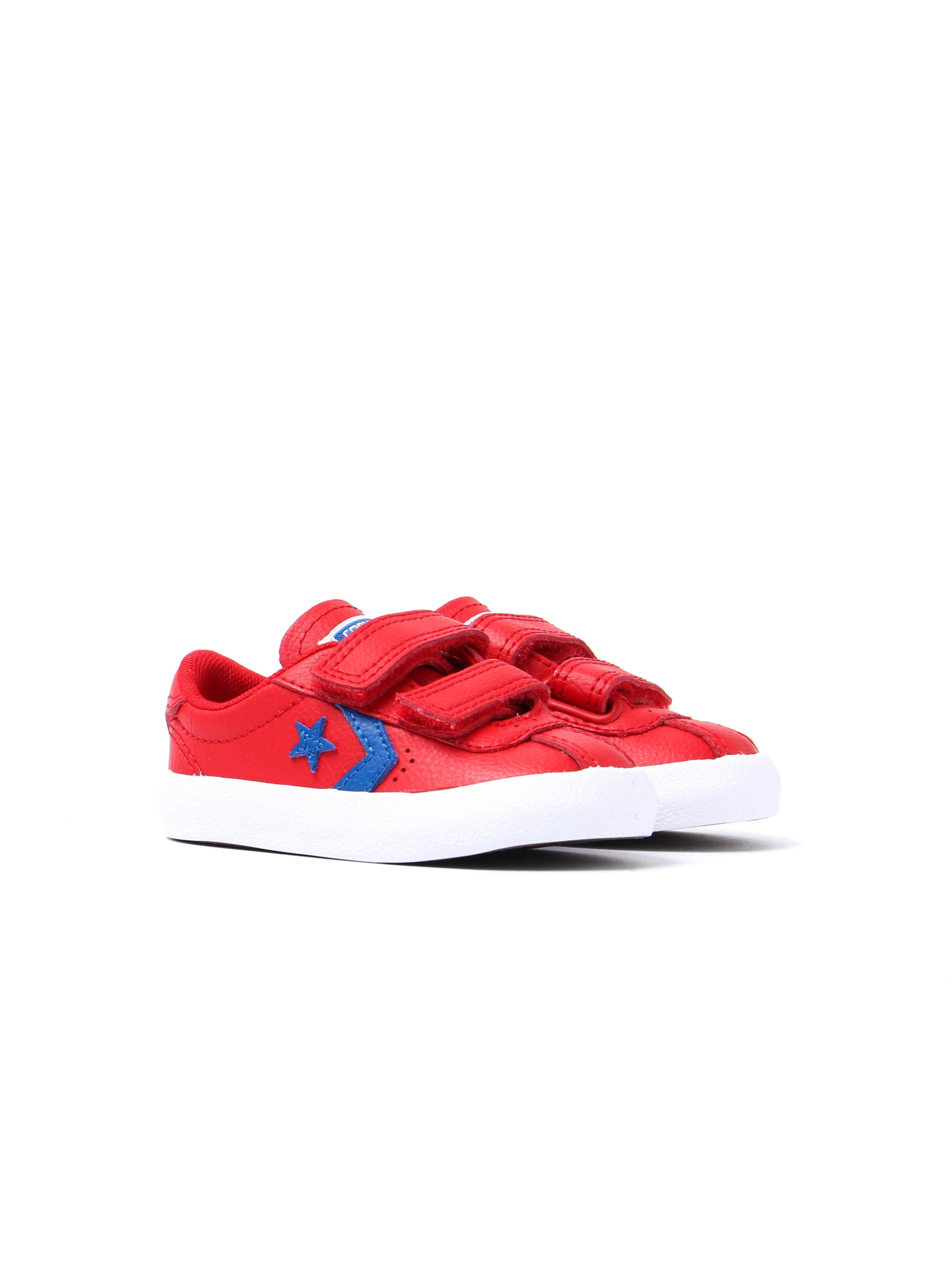 Converse Infants Breakpoint 2V Leather Trainers - Casino Red