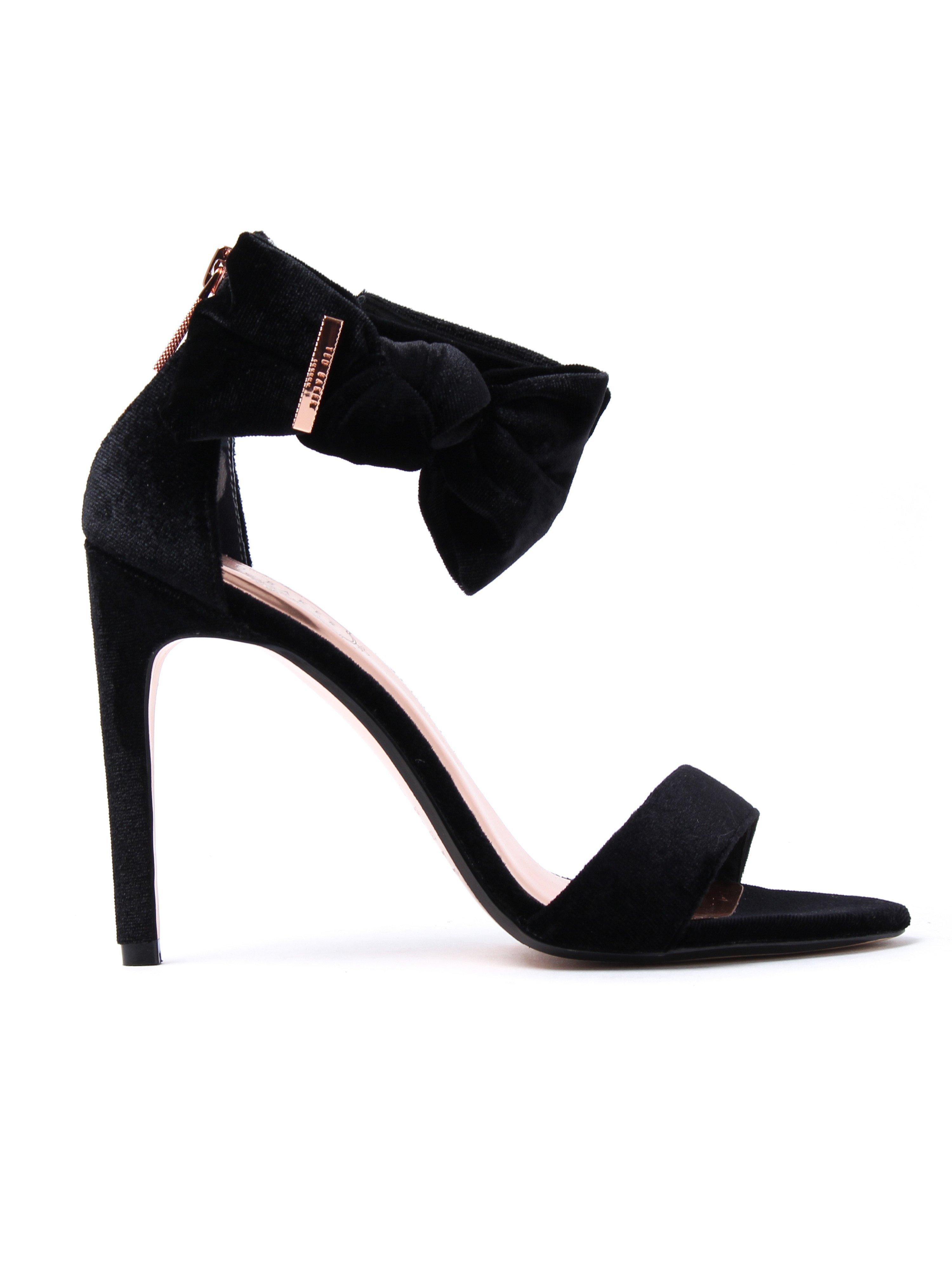 Ted Baker Women's Torabel Heeled Sandals - Black Velvet