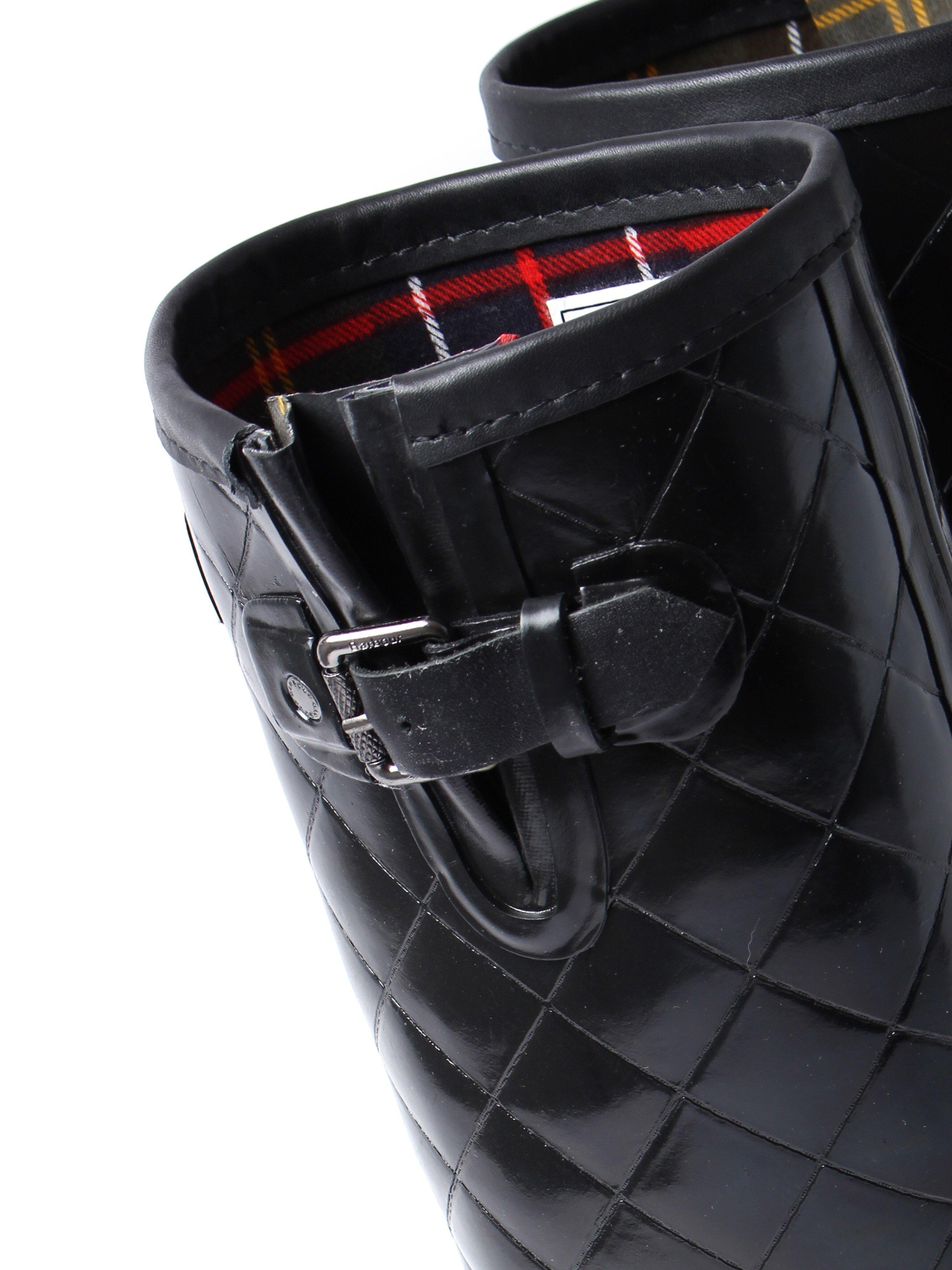 Barbour Women's Lindisfarne Wellington Boots - Black